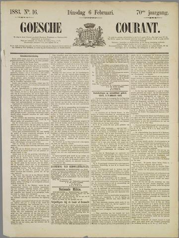 Goessche Courant 1883-02-06
