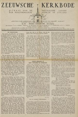 Zeeuwsche kerkbode, weekblad gewijd aan de belangen der gereformeerde kerken/ Zeeuwsch kerkblad 1946-02-01