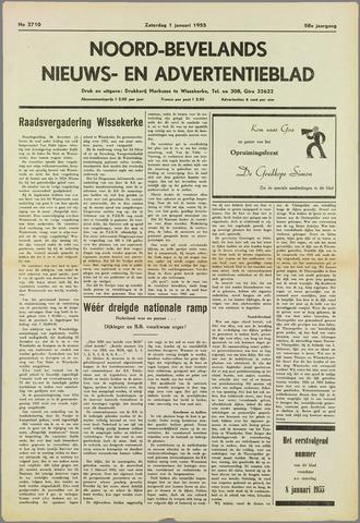 Noord-Bevelands Nieuws- en advertentieblad 1955