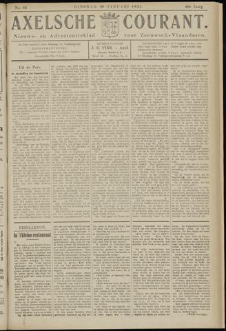 Axelsche Courant 1925-01-20