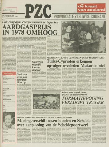 Provinciale Zeeuwse Courant 1977-08-04