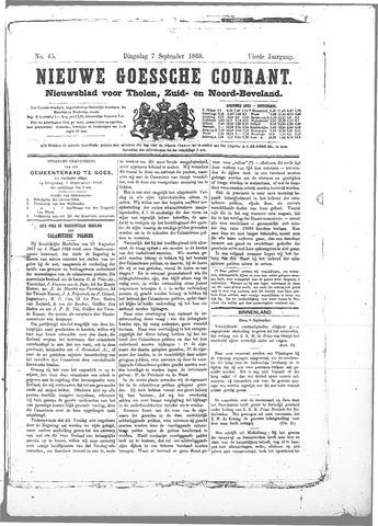 Nieuwe Goessche Courant 1869-09-07