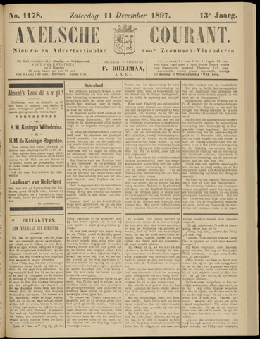 Axelsche Courant 1897-12-11