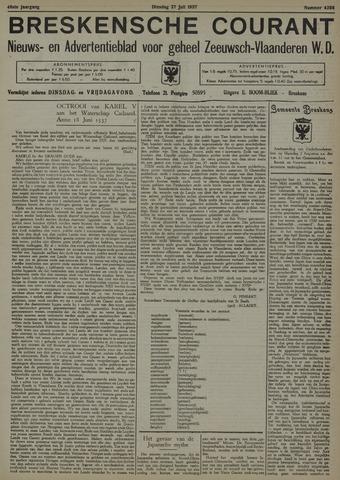 Breskensche Courant 1937-07-27