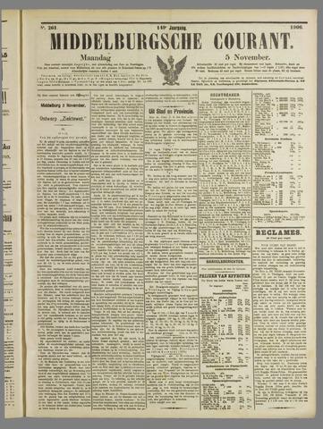 Middelburgsche Courant 1906-11-05