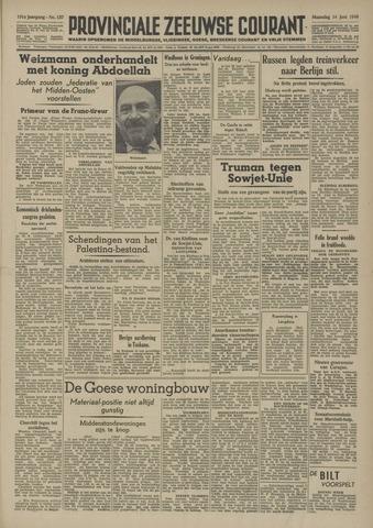Provinciale Zeeuwse Courant 1948-06-14