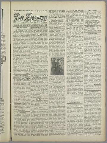 De Zeeuw. Christelijk-historisch nieuwsblad voor Zeeland 1943-09-04