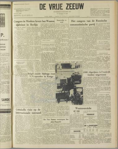 de Vrije Zeeuw 1961-10-19
