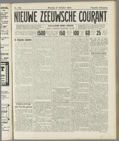Nieuwe Zeeuwsche Courant 1913-10-21