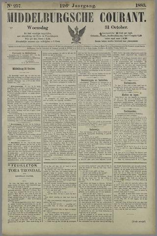 Middelburgsche Courant 1883-10-31