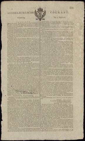 Middelburgsche Courant 1814-08-04