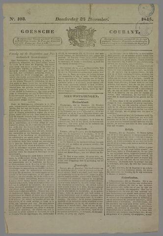 Goessche Courant 1845-12-25
