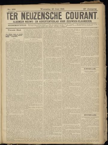 Ter Neuzensche Courant. Algemeen Nieuws- en Advertentieblad voor Zeeuwsch-Vlaanderen / Neuzensche Courant ... (idem) / (Algemeen) nieuws en advertentieblad voor Zeeuwsch-Vlaanderen 1929-06-28