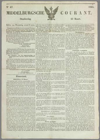 Middelburgsche Courant 1865-03-23