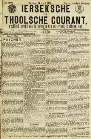 Ierseksche en Thoolsche Courant 1906-04-14