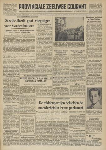 Provinciale Zeeuwse Courant 1951-06-19