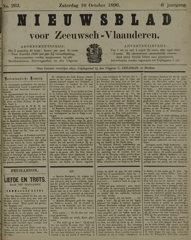 Nieuwsblad voor Zeeuwsch-Vlaanderen 1896-10-10
