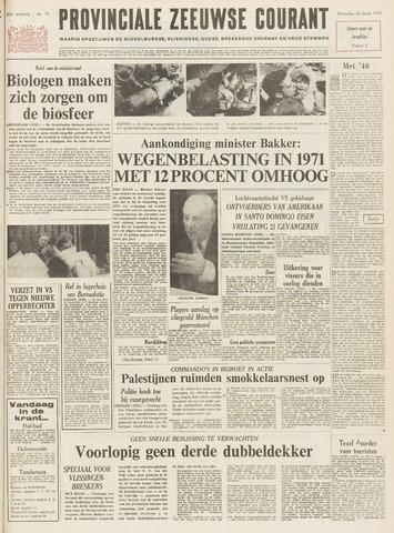 Provinciale Zeeuwse Courant 1970-03-25