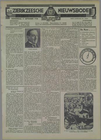Zierikzeesche Nieuwsbode 1936-09-17