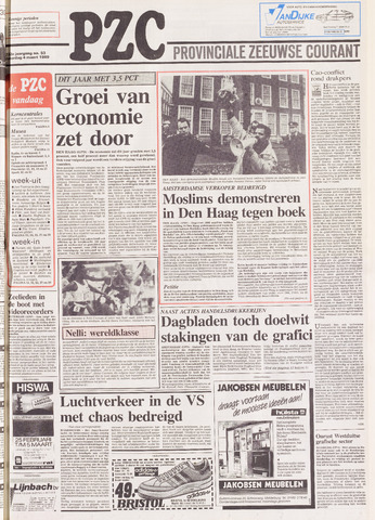 Provinciale Zeeuwse Courant 1989-03-04