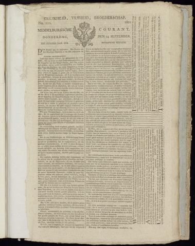 Middelburgsche Courant 1801-09-24