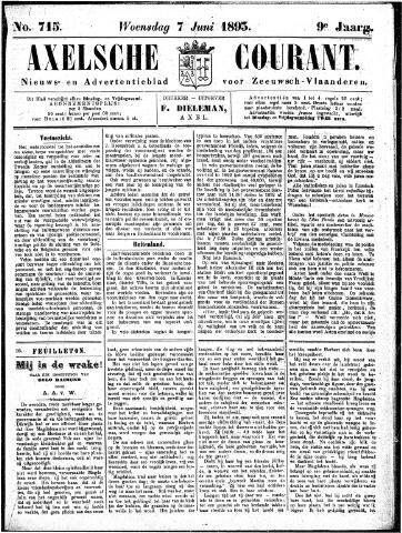 Axelsche Courant 1893-06-07