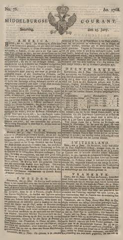 Middelburgsche Courant 1768-06-25