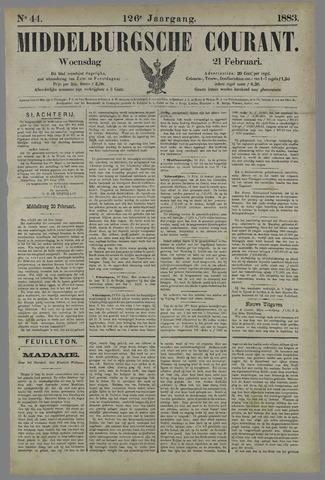 Middelburgsche Courant 1883-02-21