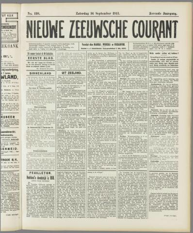 Nieuwe Zeeuwsche Courant 1911-09-16