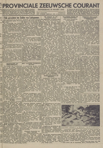 Provinciale Zeeuwse Courant 1943-03-25
