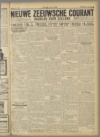 Nieuwe Zeeuwsche Courant 1922-07-18