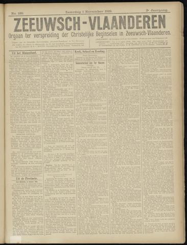Luctor et Emergo. Antirevolutionair nieuws- en advertentieblad voor Zeeland / Zeeuwsch-Vlaanderen. Orgaan ter verspreiding van de christelijke beginselen in Zeeuwsch-Vlaanderen 1919-11-01