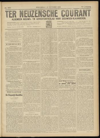 Ter Neuzensche Courant. Algemeen Nieuws- en Advertentieblad voor Zeeuwsch-Vlaanderen / Neuzensche Courant ... (idem) / (Algemeen) nieuws en advertentieblad voor Zeeuwsch-Vlaanderen 1932-10-12