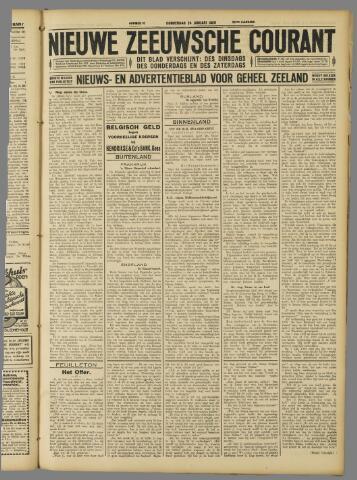 Nieuwe Zeeuwsche Courant 1929-01-24