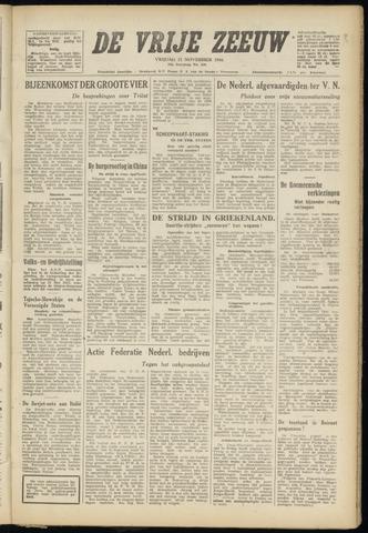de Vrije Zeeuw 1946-11-22