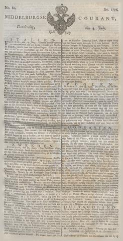 Middelburgsche Courant 1776-07-04