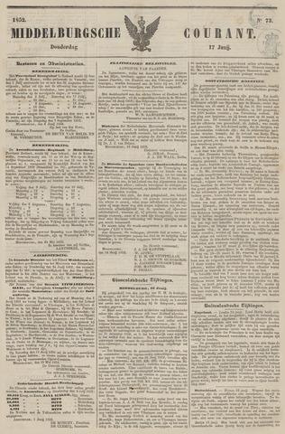 Middelburgsche Courant 1852-06-17