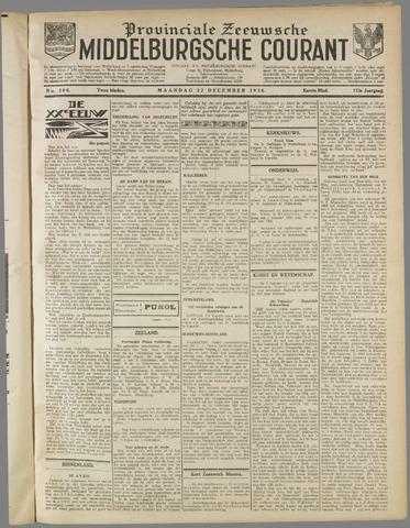 Middelburgsche Courant 1930-12-22