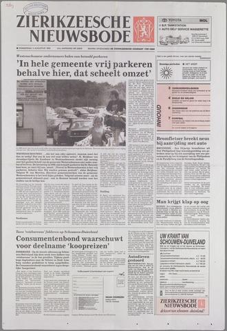 Zierikzeesche Nieuwsbode 1995-08-03