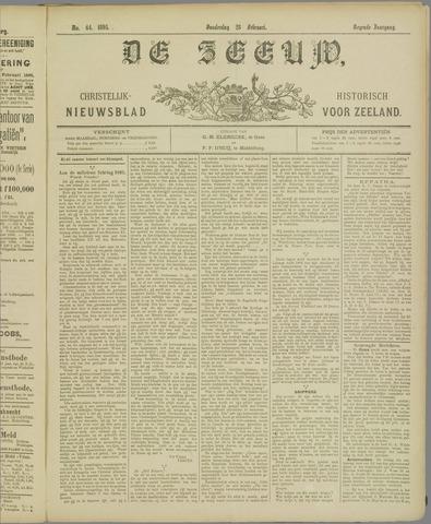 De Zeeuw. Christelijk-historisch nieuwsblad voor Zeeland 1895-02-28