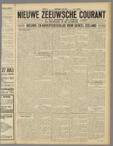 Nieuwe Zeeuwsche Courant 1932-07-07
