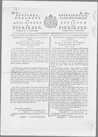 Zierikzeesche Courant 1813