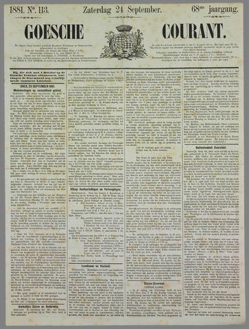 Goessche Courant 1881-09-24