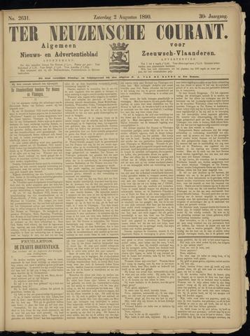 Ter Neuzensche Courant. Algemeen Nieuws- en Advertentieblad voor Zeeuwsch-Vlaanderen / Neuzensche Courant ... (idem) / (Algemeen) nieuws en advertentieblad voor Zeeuwsch-Vlaanderen 1890-08-02