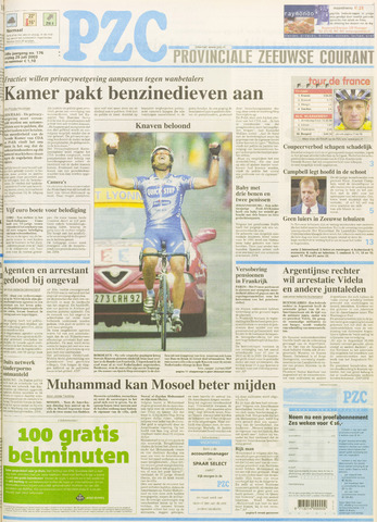 Provinciale Zeeuwse Courant 2003-07-25