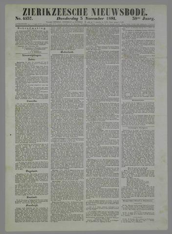 Zierikzeesche Nieuwsbode 1881-11-03