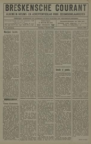 Breskensche Courant 1925-10-03