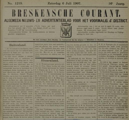 Breskensche Courant 1907-07-06