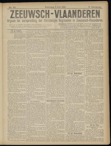 Luctor et Emergo. Antirevolutionair nieuws- en advertentieblad voor Zeeland / Zeeuwsch-Vlaanderen. Orgaan ter verspreiding van de christelijke beginselen in Zeeuwsch-Vlaanderen 1919-07-05