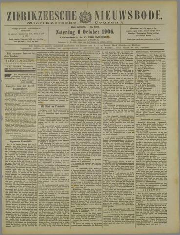 Zierikzeesche Nieuwsbode 1906-10-06